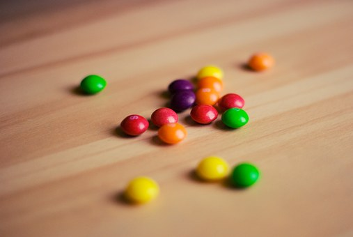 Skittles, Candy, Food, Colors, Colours