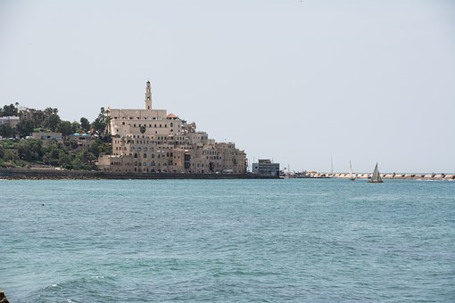 Jaffa, Skyline, Old Town, Old, City, Architecture
