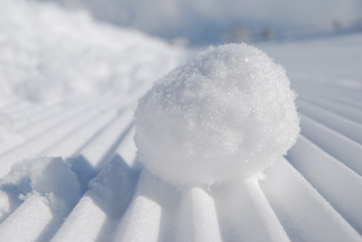 Snowball, Snow, Snow Sifted, Snowflake, Freezing