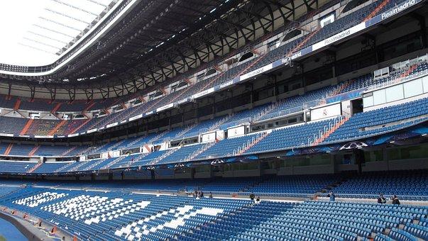 Stadium, Santiago Bernabeu, Football, Real Madrid