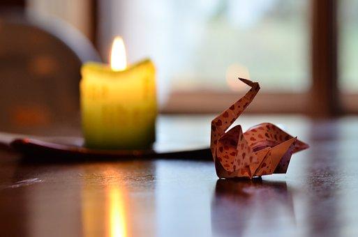 Candle, Casserole, Decoration, Table, Bokhen, Folding