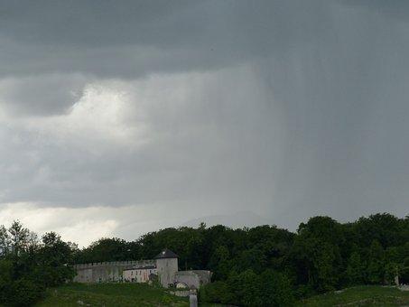 Mönchberg, Salzburg, Thunderstorm, Storm, Rain