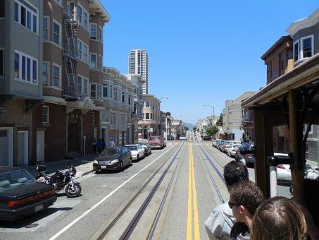 San Francisco, California, Urban, City, Cities, Street