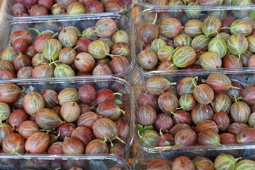 Gooseberries, Eat, Berries, Vitamins, Food, Vegan, Jam