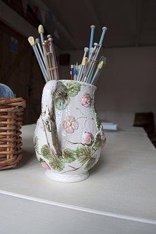 Needles, Knitting, Craft, Hobby, Vintage