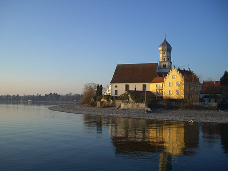 Church Of St George, Wasserburg, Lake Constance