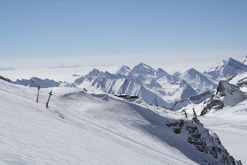 Zillertal, Zillertal Winter, Skiing, Alpine, Panorama