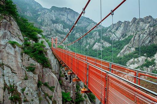 Bridge, Adventure Bridge, Wollchulsan National Park