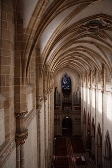 Ulmer, Münster, Nave, Organ Empore, Architecture