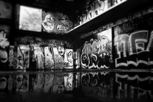 Art, Gallery, Art Gallery, Grafitti, Wall, Drawing