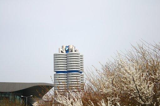 Munich, Bmw, Architecture, Bmw World, Building, Germany