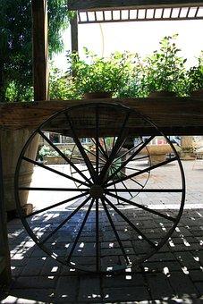 Cart, Wooden, Box, Slats, Ight And Shaddow Of Slats