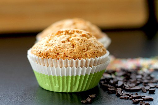 Muffins, Cakes, Baked, Foods, Cupcakes, Brown, Edible