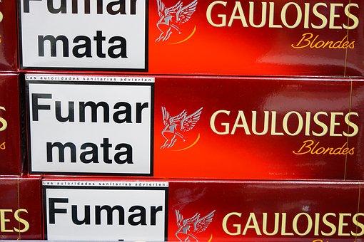 Cigarettes, Gauloises, Cigarette Brand, Cigarette Sales