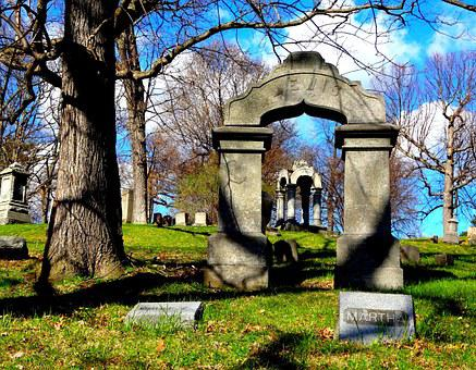 Cemetery, Graveyard, Tombstone, Grave, Scary, Death