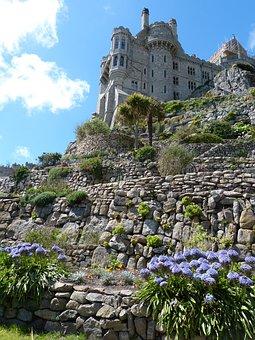 Castle, St Michael, Cornwall, England, Coast