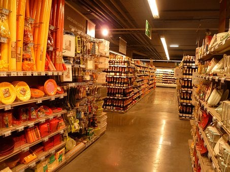 France, Store, Market, Inside, Interior, Buildings