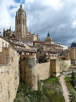 Segovia, Spain, Castile, Cathedral, Church, Gothic
