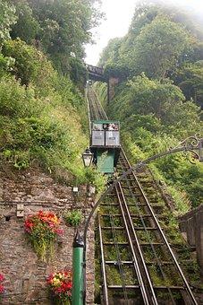 Tram, Train, Sky, Green, Transportation, Transport