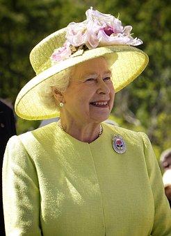Queen, England, Elizabeth Ii, Portrait, Woman, Hat