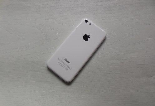 Apple Iphone, 5c, Phone, Mobile Phone, White, Iphone
