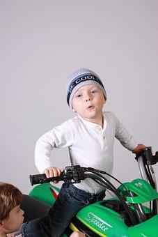 Quad, Green, Kid, Boy, School, Smiling, Children