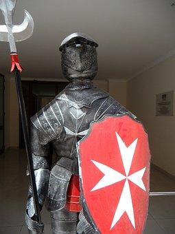 Knight, Armor, Ritterruestung, Malta, Knights