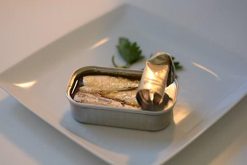Sardines, Can, Food, Fish, Power, Canned, Oil