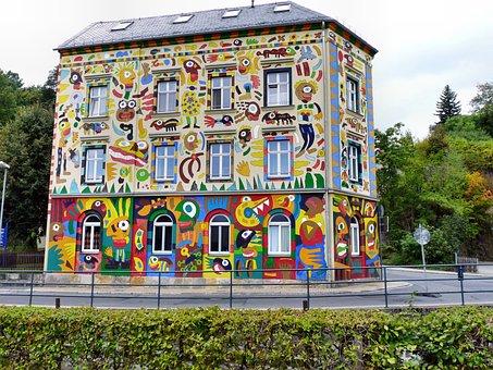 Craffiti House, Fischer-art In Sebnitz, Art, Painting