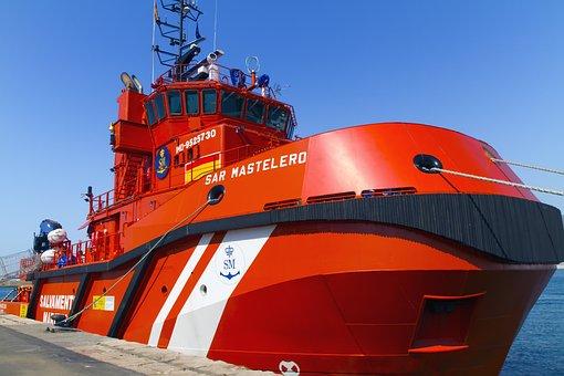 Rescue Vessel, Port, Almeria