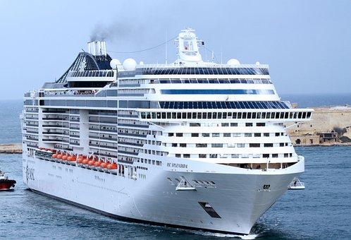 Cruise Ship, Cruise, Ship, Traffic, Maritime, Sea, Port