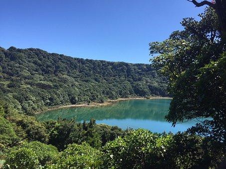 Volcano, Poas Volcano, Costa Rica, Travel, Laguna