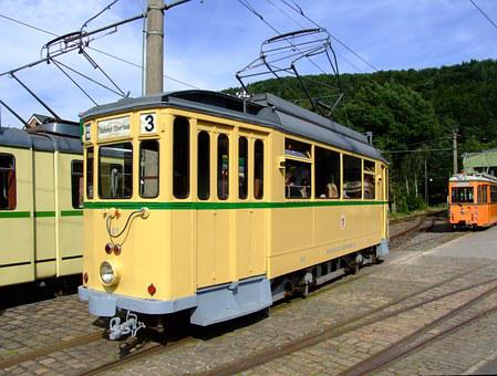 Tram, Car, Old, Historic, Transportation, Travel