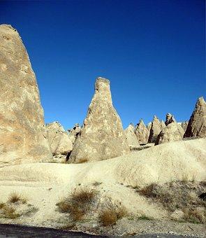 Cappadocia, Turkey, Anatolia, Tufa, Landscape