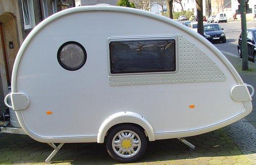 Caravan, Vehicles, Trailer, Travel, Transportation