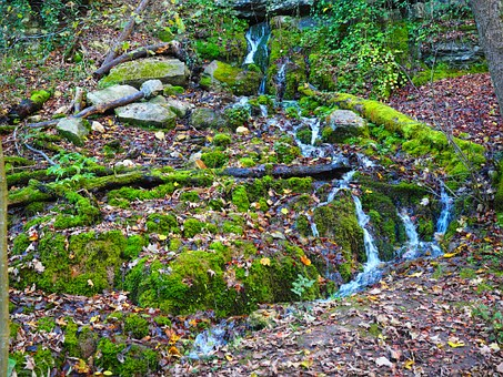 Source, Waterfall, Water, Goods Wasserfall