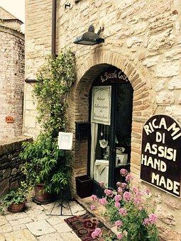 Italy, Assisi, Villages, Ancient, Umbria, Borgo, Vista