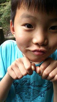 Boy, Asia, Children, Pikachu, Meng Meng