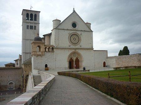 Assisi, Umbria, Basilica, St Francis Of Assisi