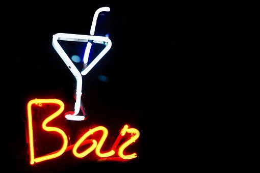 Alcohol, Background, Bar, Black, Cocktail, Color, Dark
