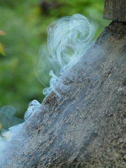 Smoke, Gas, Leakage, Toxic, Poisoning, Blue, Bluish