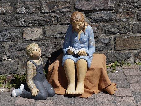 Ceramic, Figures, Potters Market