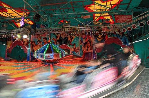 Carousel, Year Market, Ride, Fun, Pleasure, Colorful