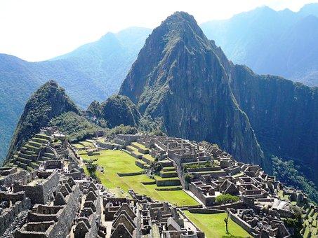Machu Picchu, Landscape, Mountains, Peace, Grandeur