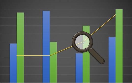 Chart, Graph, Analytic, Cubes, Bars, Growth, Loss