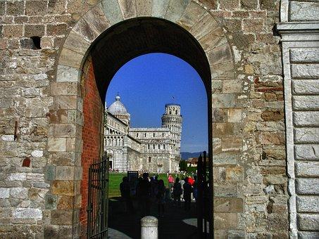 Pisa, Tuscany, Toscana, Italy, Piazza Dei Miracoli
