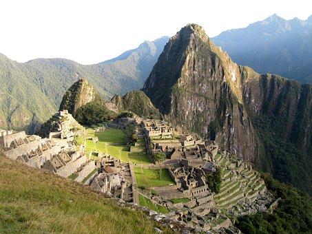 Machu Picchu, Peru, Landscape, World Heritage