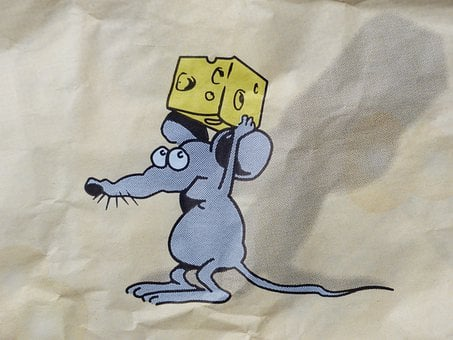 Mouse, Cheese, Stolen, Three Cheese High, Comic, Funny