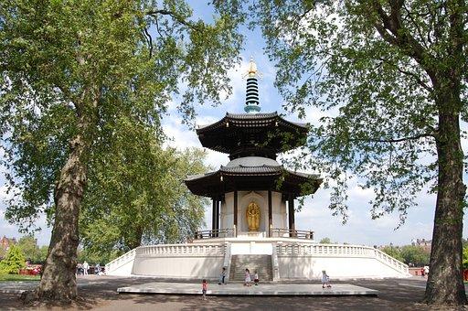 Pagoda, Peace, Buddhist, Battersea, London