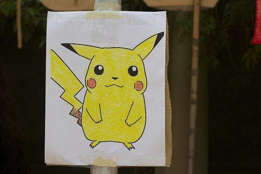 Pokemon, Pikachu, Cartoon
